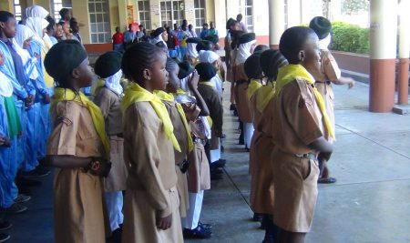 Scouts and Girl guides